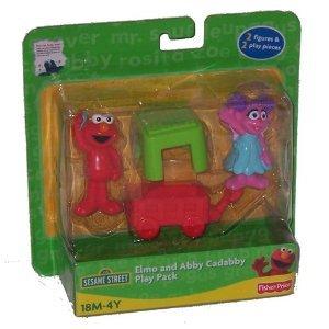 Fisher Price Sesame Street Elmo Abby Cadabby Play Pack