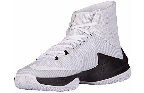 Nike Herren Zoom Clear Out TB Basketballschuhe Schwarz / Metallic Silber / Anthrazit