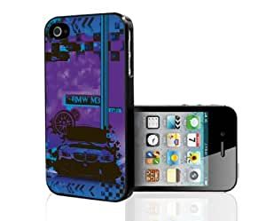 Purple and Blue BMW Car Hard Snap on Phone Case (iPhone 4/4s)