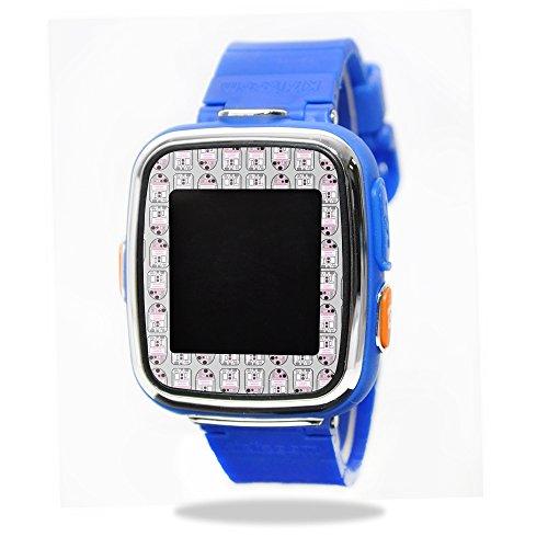 Skin Decal Wrap for VTech Kidizoom Smartwatch DX sticker Pink Galaxy Bots
