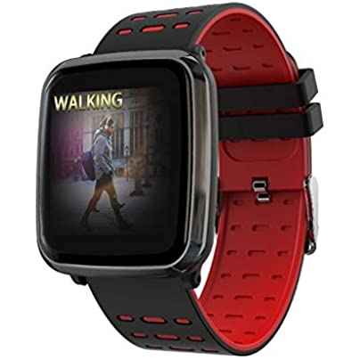 ANMY Heart Rate Monitor for ECG Smart Wristband Blood Pressure Call Message Push Waterproof Bluetooth Fitness Tracker Silicone Wristband Estimated Price £55.59 -
