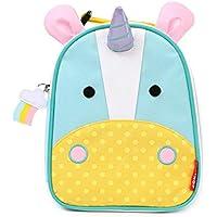 "Skip Hop Zoo Kids Insulated Lunch Box, Eureka Unicorn, 9""x3.25""x7.5"", Multi..."