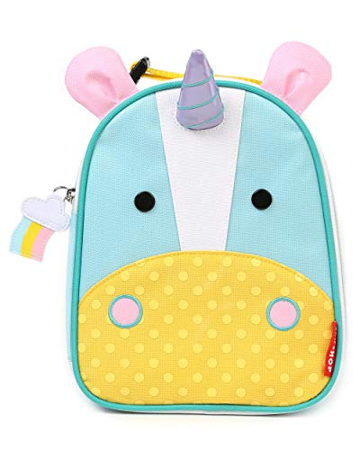 - Skip Hop Zoo Kids Insulated Lunch Box, Eureka Unicorn, Multi