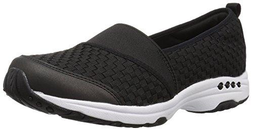 Thin Twist (Easy Spirit Women's Twist Sneaker, Black, 9 M US)