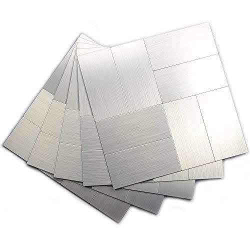 (Yipscazo Backsplash Tiles Kitchen, Wall Tiles for Kitchen Backsplash(12x12 Inch Per Sheet, Pack of 5) )