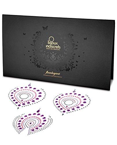 Bijoux Indiscrets Flamboyant Skin Jewelry - Pink/Purple