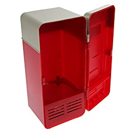 Chinatera Desktop Mini USB Beverage Cans Cooler & Warmer Refrigerator Fridge