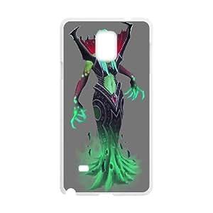 Samsung Galaxy Note 4 White phone case Death Prophet Dota 2 DOT4181906