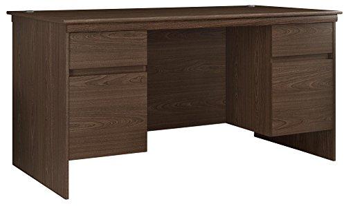 (Ameriwood Home 9111096COM Presley Executive Desk)