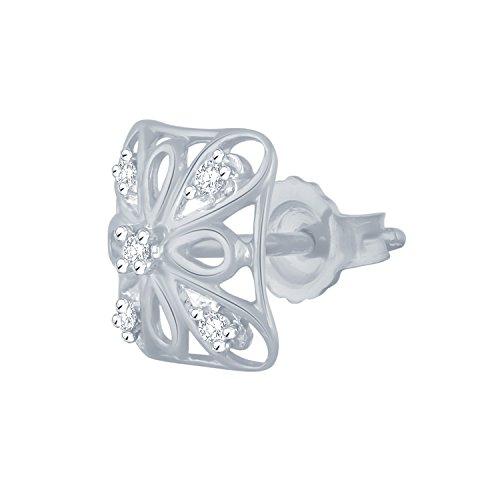 Giantti Diamant Pendentif Femme Collier (0.0824CT, qualité HSI, Gh-colour)
