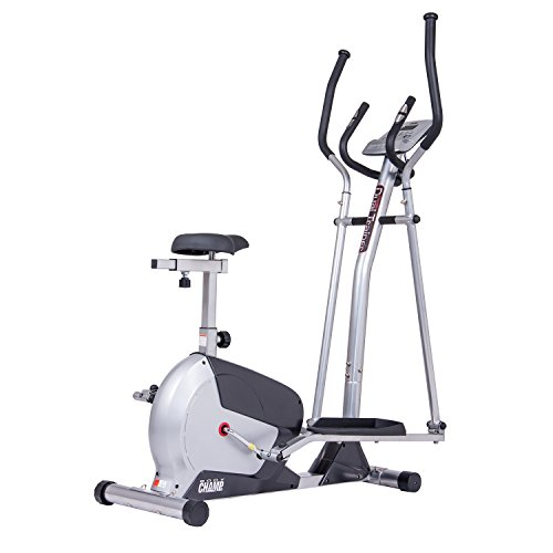 Body Champ 2-in-1 Cardio Dual Trainer, black/Dark Gray