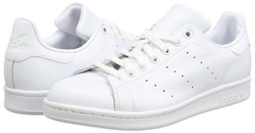 adidas Stan Smith, Sandalias con Plataforma Unisex Blanco - Weiß (Ftwr White/Ftwr White/Ftwr White)
