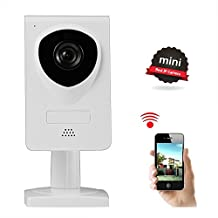 Wireless Camera, Nexgadget WiFi IP Camera Home Security with Two-Way Audio, Night Vision, Baby Pet Video Monitor Camera, Motion Detection, Network Surveillance Camera