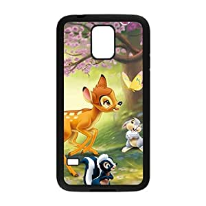 Bambi and Miss Bunny fashion plastic phone case for samsung galaxy s5