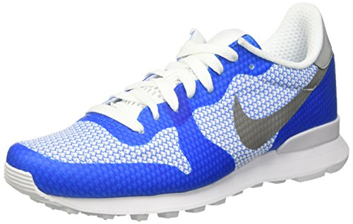 Nike Internationalist NS, Scarpe da Corsa Uomo Multicolore (Photo Blue/Metallic Silver/Wht)