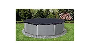 Blue Wave Bronze 30-ft Round Above Ground Pool Winter Cover UV-protected