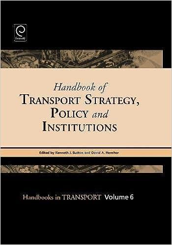 Descargar It Mejortorrent Handbook Of Transport Strategy, Policy & Institutions: V. 6 Kindle A PDF