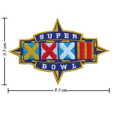 super bowl 32 patch - 1
