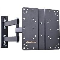 VideoSecu ML510B Articulating Tilt Swivel TV Wall Mount for 17 - 37 LCD/LED TV, Black B65