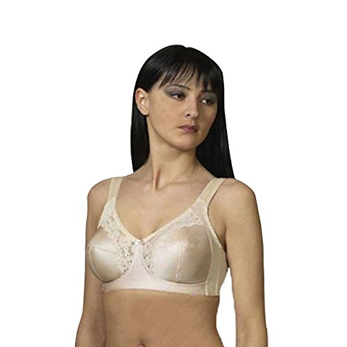 Cortland Style 7103 - Banded Full Figure Soft Cup Bra With Lace