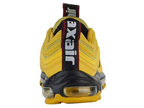 ee141a5e63 Nike Men's Air Max '97 Bright Citron/Black/Black Leather - Import It All