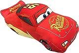 Disney Pixar Cars 3 Plush Stuffed Lightning Mcqueen Red Pillow Buddy - Kids Super Soft Polyester Microfiber, 17 inch