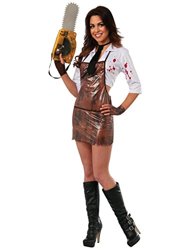 Womens Texas Chainsaw Massacre Costumes (Secret Wishes Women's Sassy Miss Leatherface Costume, Multi, Large)
