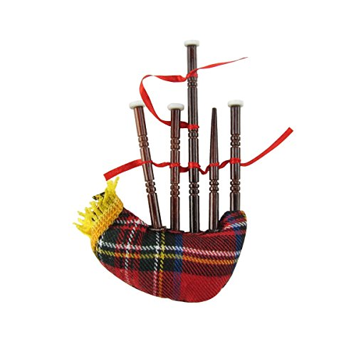 Miniature Gift Bags (Miniature Bag Pipe Musical Instrument Realistic Ornament)
