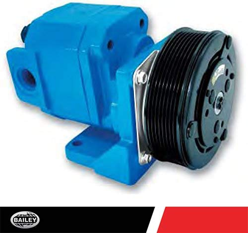 "CP124 Clutch Pumps: 1.86 CID, Rated GPM: 21.7, 3200 RPM, 3200 PSI, 1 1/4"" Inlet and 3/4"" NPT Outlet Ports, Rotation, Type K 6 Groove Clutch, 252271"
