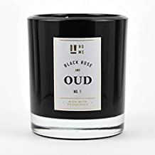 DW Home Large Double Wick Candle, Black Rose and Oud by DW Home