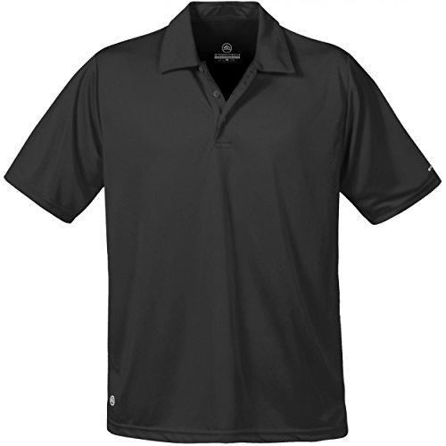 Stormtech Mens Short Sleeve Sports Performance Polo Shirt (M) (Black)