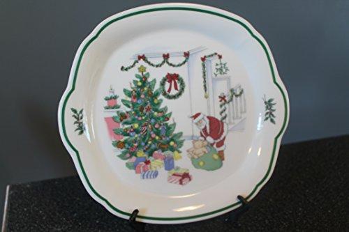 Nikko CHRISTMASTIME Cake Plate/Serving Tray 10