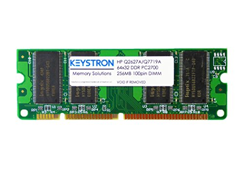 HP Q2627A Q7719A 256MB 100pin DDR SDRAM DIMM for HP LaserJet 5200, (5200tn Laser Printer)