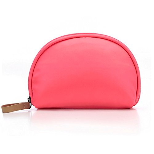 Cosmetic Bag Lipstick - Cosmetic Case,Mossio Lightweight Handbag with Multiple Compartments Travel Makeup Case Rose Red