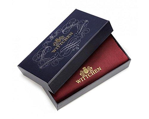 WITTCHEN portafoglio, Mare, Dimensione: 10x15 cm - Materiale: Pelle verniciata - 25-1-081-M