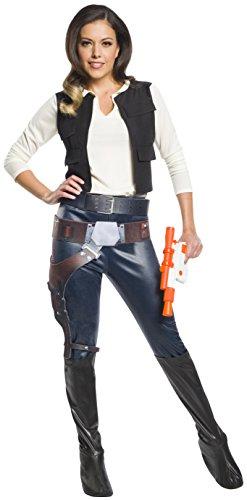 Rubie's Women's Standard Star Wars Classic Han Solo, As Shown, Small