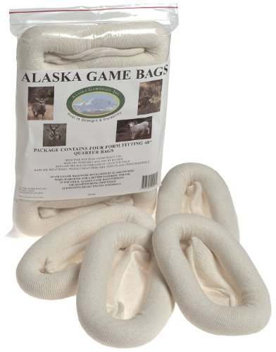 Alaska Game Deer, Antelope and Sheep Bags, 48-Inch (Pack of Four) (Treestand Side Bags)
