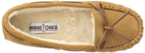 Cinnamon Minnetonka Fur Faux Cally Slipper Women's x8qH8w1X