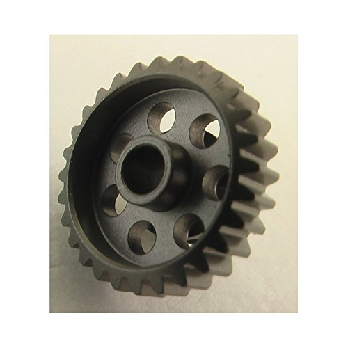 Hot Racing HAG828 28 Tooth 48 Pitch Hard Aluminum Pinion Gear 1/8 Inch ()