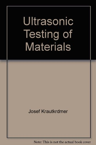Ultrasonic testing of materials,