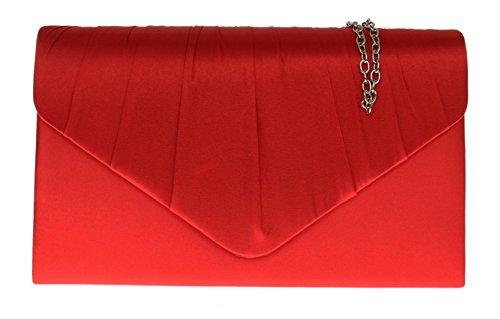 Girly Handbags - Cartera de mano para mujer Rojo - rojo