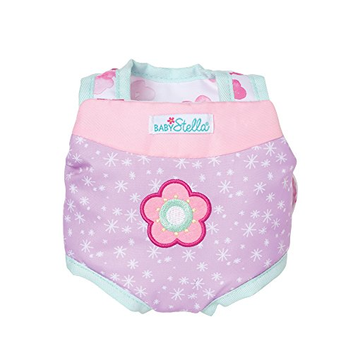 Manhattan Toy Baby Stella Snuggle Up Front Carrier Baby Doll Accessory for 12