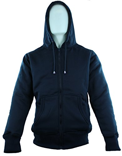 American Legend Outfitters Fur Hoodie for Men - Navy - Size L (All American Outfitters)