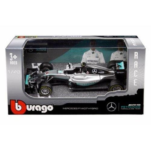 BBURAGO 1:43 RACE - AMG PETRONAS FORMULA ONE TEAM - MERCEDES