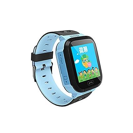 Amazon.com: YQT niños reloj inteligente con Mini GPRS GSM ...