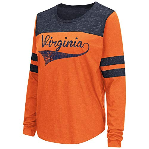 - Womens Virginia Cavaliers Long Sleeve Tee Shirt - S