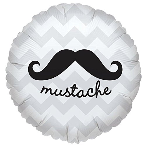 Mustache Party Supplies - Foil Balloon