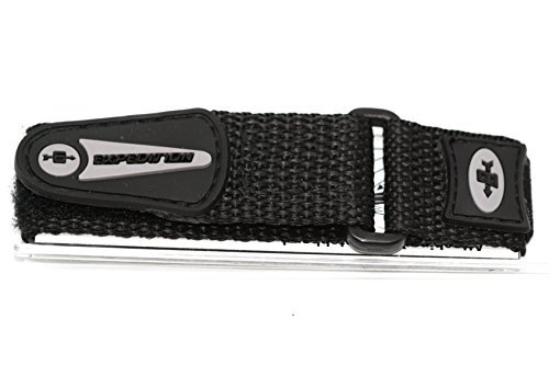 Timex 16-20mm Black Expedition Sport Wrap Watch Band (Timex Expedition 16mm)
