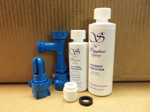 - Waterbed Fill and Drain Kit with Two and One Half Year Supply of Waterbed Conditioner by Avant