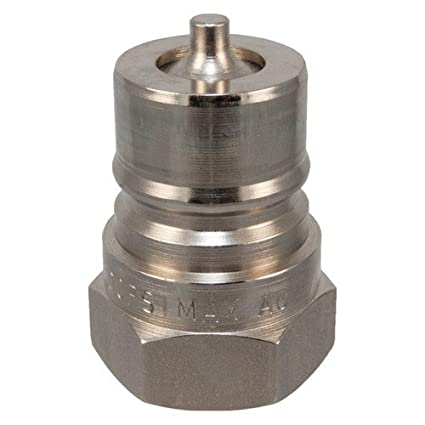 S56 3//4 3//4 Female Pipe Thread Type Steel Complete Coupler with Nitrile Seal Pack of 6 pcs Safeway Hydraulics S56-6